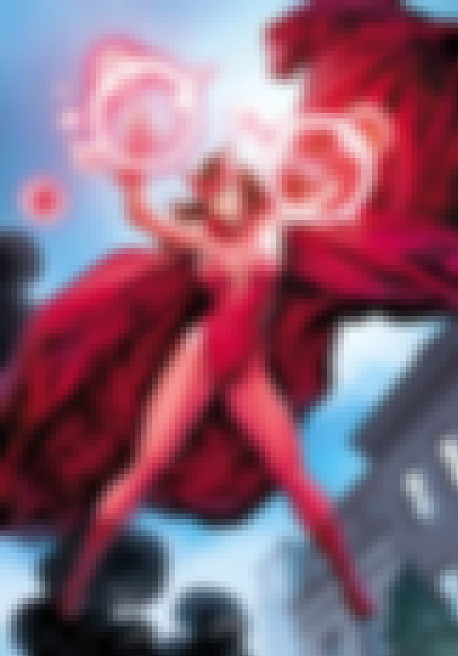 Scarlet Witch is listed (or ranked) 2 on the list The Hottest Women Avengers