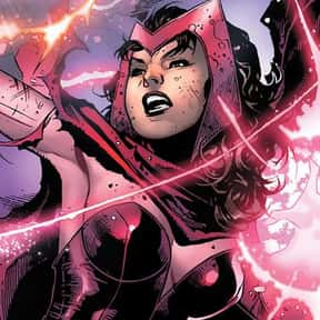 Scarlet Witch is listed (or ranked) 19 on the list The Best Comic Book Superheroes Of All Time