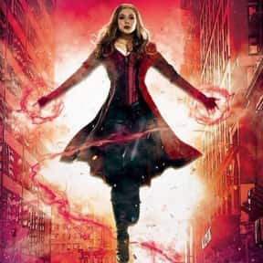 Scarlet Witch is listed (or ranked) 15 on the list The Best Characters In The Marvel Cinematic Universe