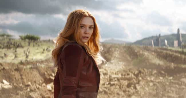 Scarlet Witch is listed (or ranked) 3 on the list Which 'Avengers' Power Do You Want Most?