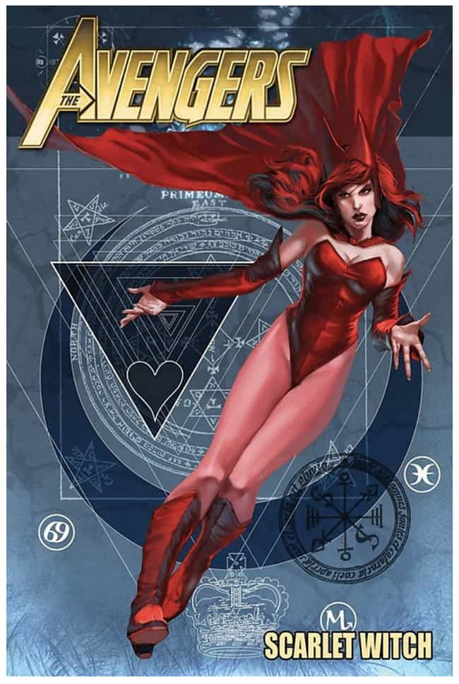 Scarlet Witch is listed (or ranked) 4 on the list The Best Jewish Comic Book Characters