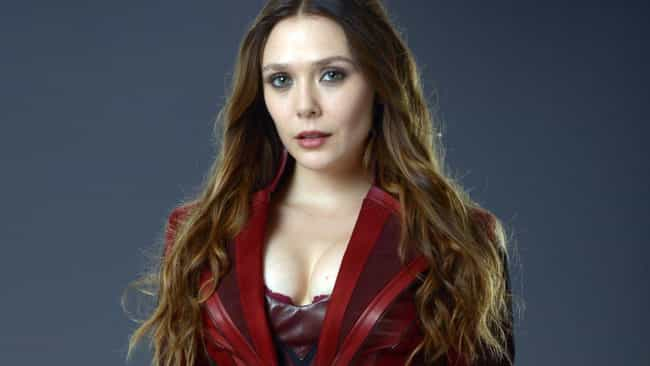 Scarlet Witch is listed (or ranked) 2 on the list The Strongest Characters In The MCU, Ranked