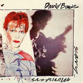 Scary Monsters (and Super Cree is listed (or ranked) 7 on the list The Best David Bowie Albums of All Time