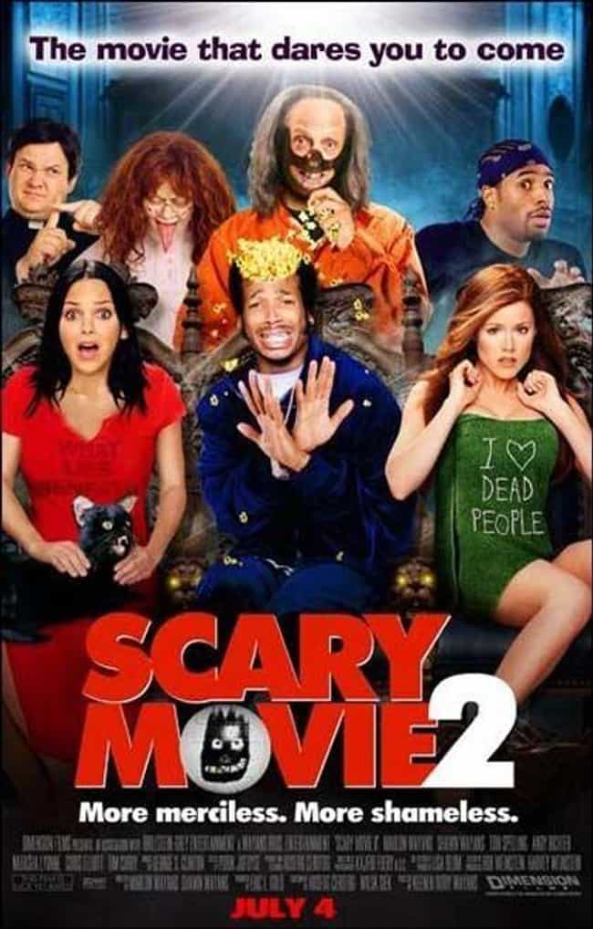 Scary Movie 2 is listed (or ranked) 3 on the list The Best Scary Movie Movies