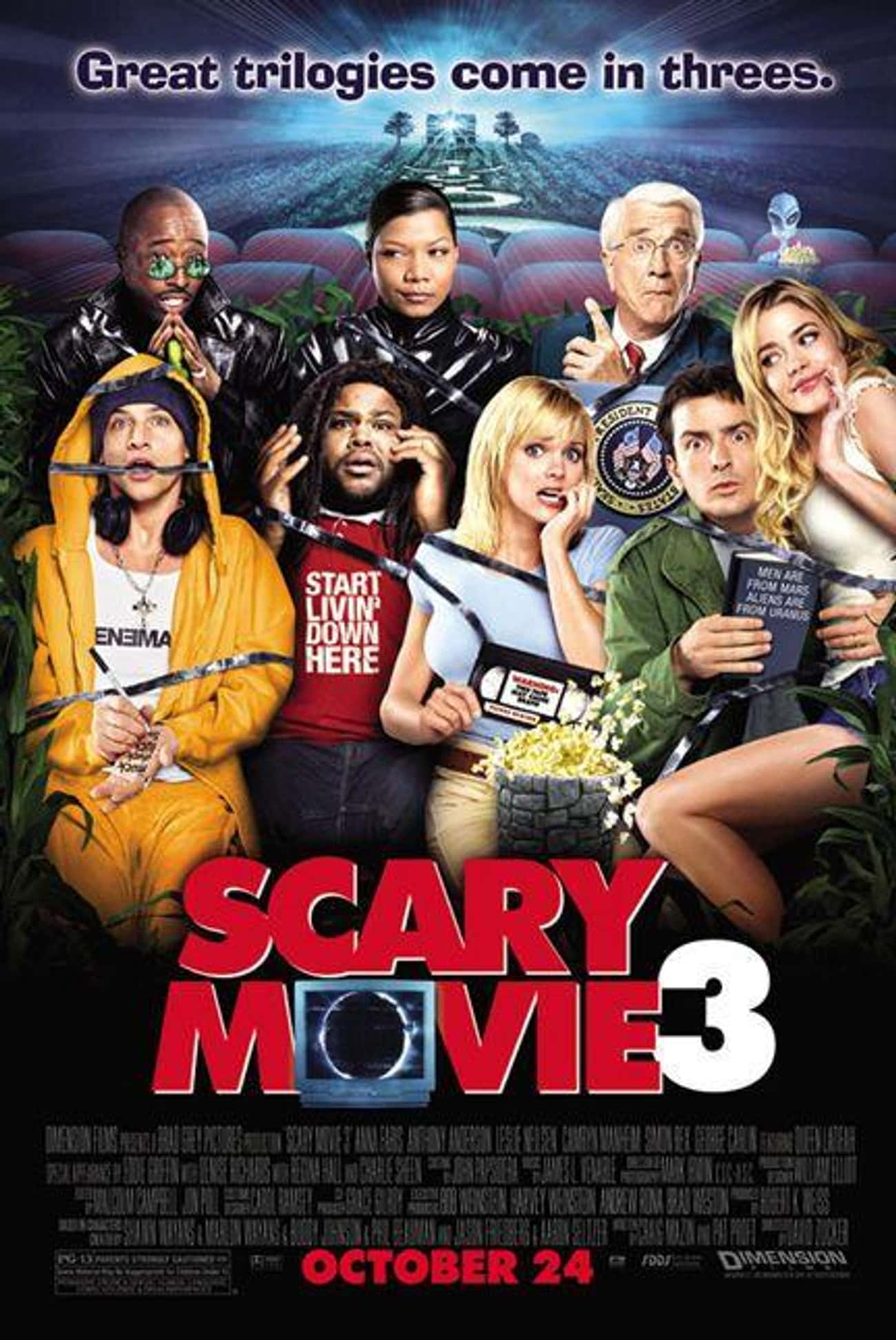 Scary Movie 3 is listed (or ranked) 2 on the list The Best Scary Movie Movies
