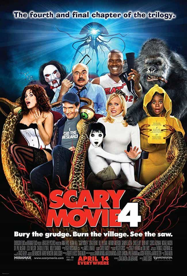 Scary Movie 4 is listed (or ranked) 4 on the list The Best Scary Movie Movies