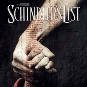 Schindler's List is listed (or ranked) 20 on the list Every Oscar Winning Film Ever