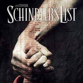 Schindlers List is listed (or ranked) 7 on the list The Greatest Film Scores of All Time