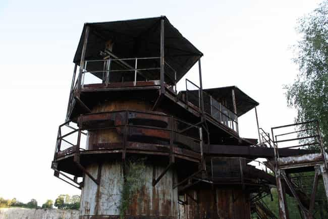 Schindler's List is listed (or ranked) 8 on the list 22 Insanely Cool Pictures Of Abandoned Movie Sets