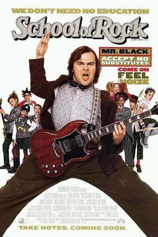 School of Rock is listed (or ranked) 4 on the list The Best Recent Musical Shows & Movies