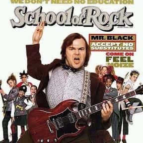 School of Rock is listed (or ranked) 7 on the list The Best Movies About Singing