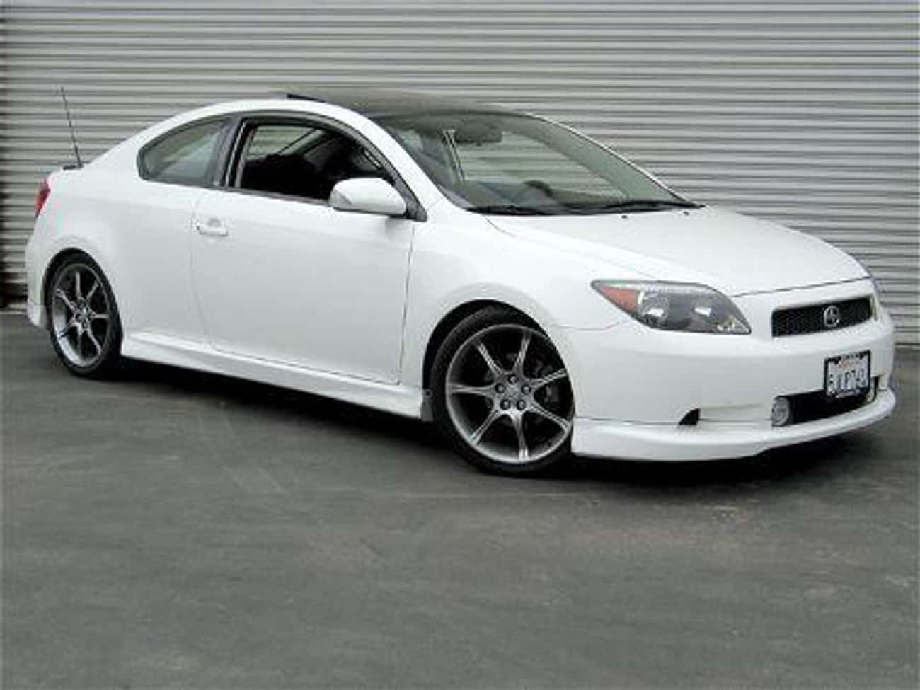Scion tC is listed (or ranked) 1 on the list Sporty Cars With Good Gas Mileage