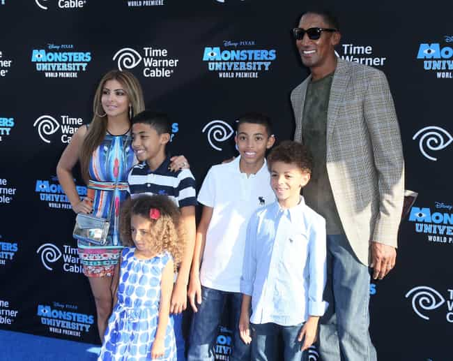 Scottie Pippen is listed (or ranked) 2 on the list NBA Players with the Most Kids