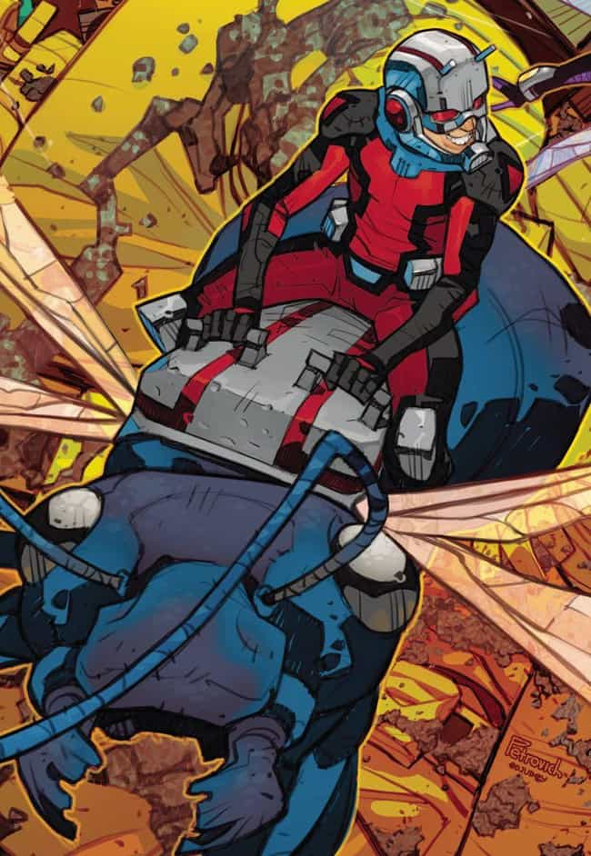 Ant-Man (Scott Lang) is listed (or ranked) 4 on the list Small Comic Book Characters Who Are Actually Super Strong