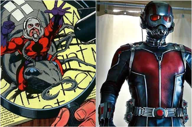 Ant-Man (Scott Lang) is listed (or ranked) 1 on the list Marvel Characters Whose Comic Book Origin Stories Are Way More Upsetting Than The Movies Portrayed