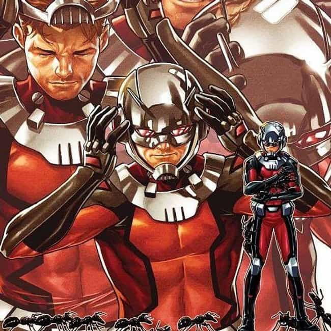 Ant-Man (Scott Lang) is listed (or ranked) 2 on the list Superhero Replacements Who Are Way Better Than Their Predecessors