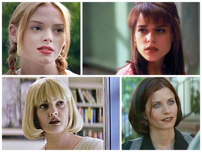 Scream is listed (or ranked) 2 on the list The Sexiest Movie Casts from the 90s