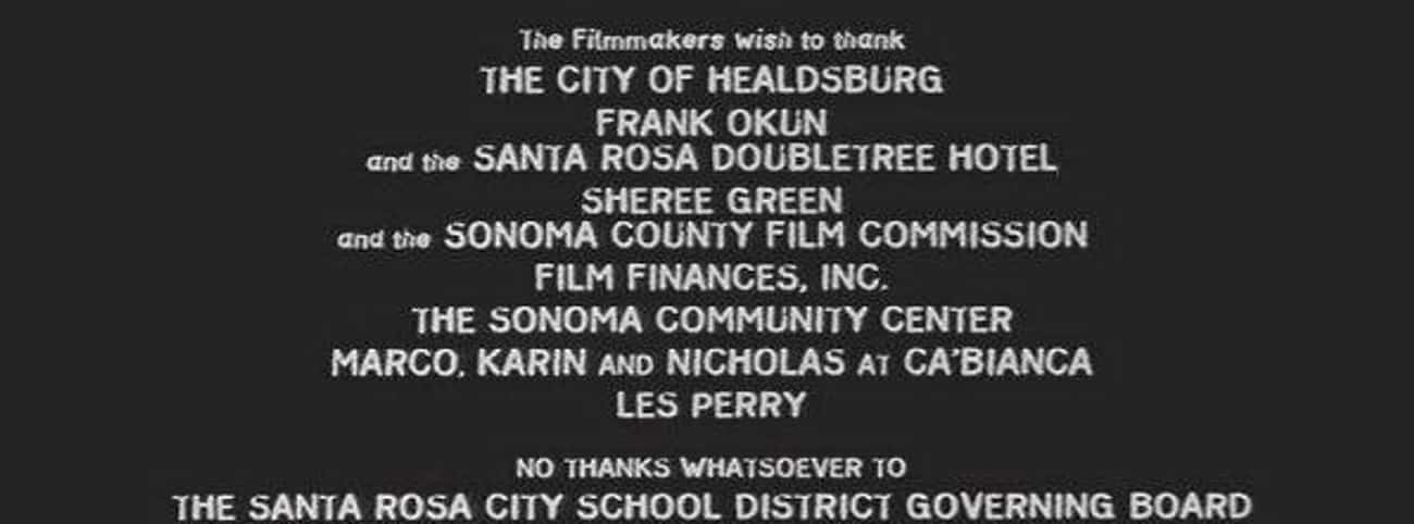During The Scream Credits, Wes is listed (or ranked) 1 on the list Genius Jokes Hidden In The Credits Of Your Favorite Movies