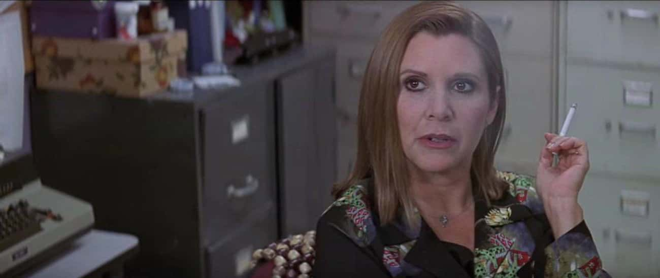Carrie Fisher In 'Scream 3' is listed (or ranked) 2 on the list 13 Really Fun Cameos In Horror Movies You May Have Missed
