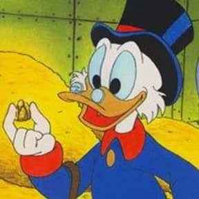 Scrooge McDuck is listed (or ranked) 14 on the list The Best Cartoon Characters of the 90s