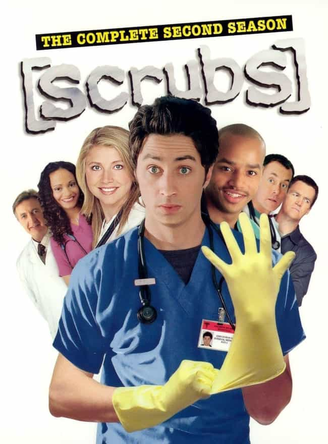 Scrubs - Season 2 is listed (or ranked) 6 on the list The Best Seasons of 'Scrubs'