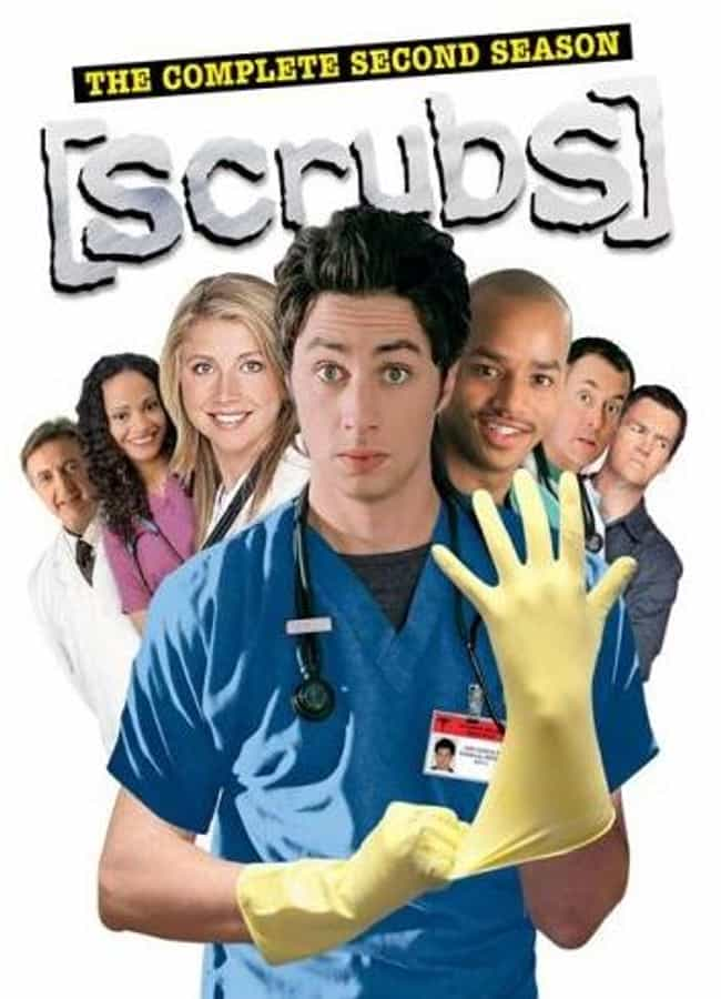 Scrubs - Season 2 is listed (or ranked) 4 on the list The Best Seasons of Scrubs