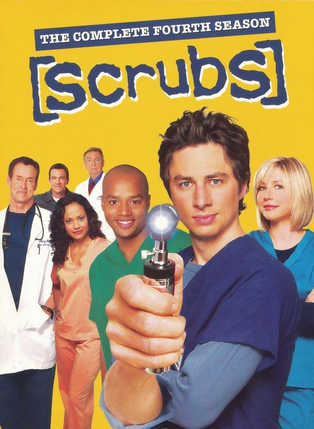 Scrubs - Season 4 is listed (or ranked) 4 on the list The Best Seasons of 'Scrubs'