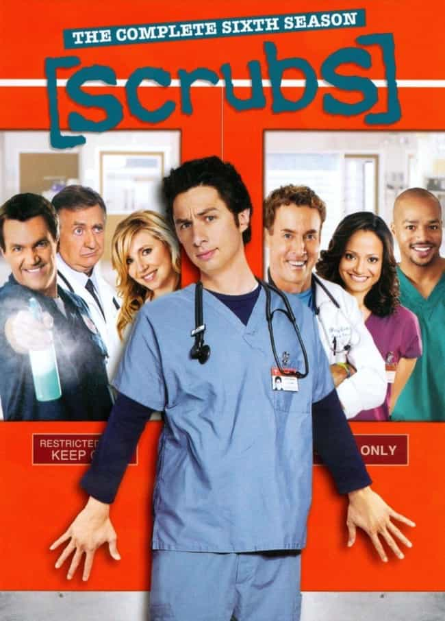 Scrubs - Season 6 is listed (or ranked) 7 on the list The Best Seasons of 'Scrubs'