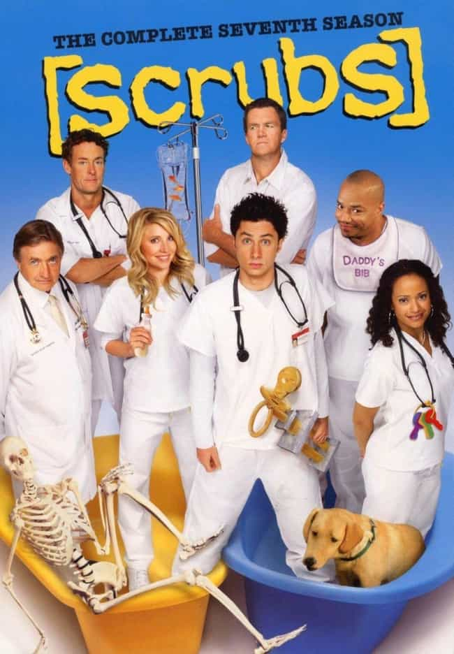 Scrubs - Season 7 is listed (or ranked) 8 on the list The Best Seasons of 'Scrubs'
