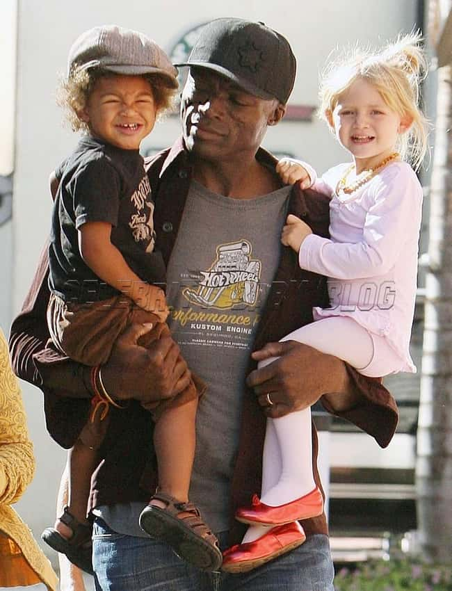 Seal is listed (or ranked) 17 on the list 26 Famous Single Dads