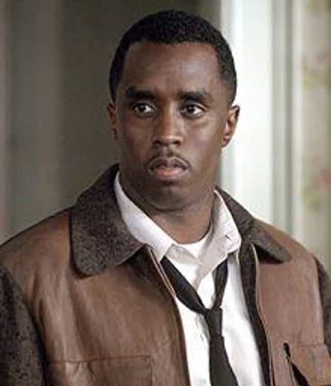Sean Combs is listed (or ranked) 4 on the list 14 Rappers Who Have Won Awards for Acting