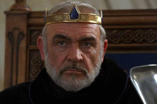 Sean Connery is listed (or ranked) 1 on the list Every Actor Who Has Played King Arthur, Ranked