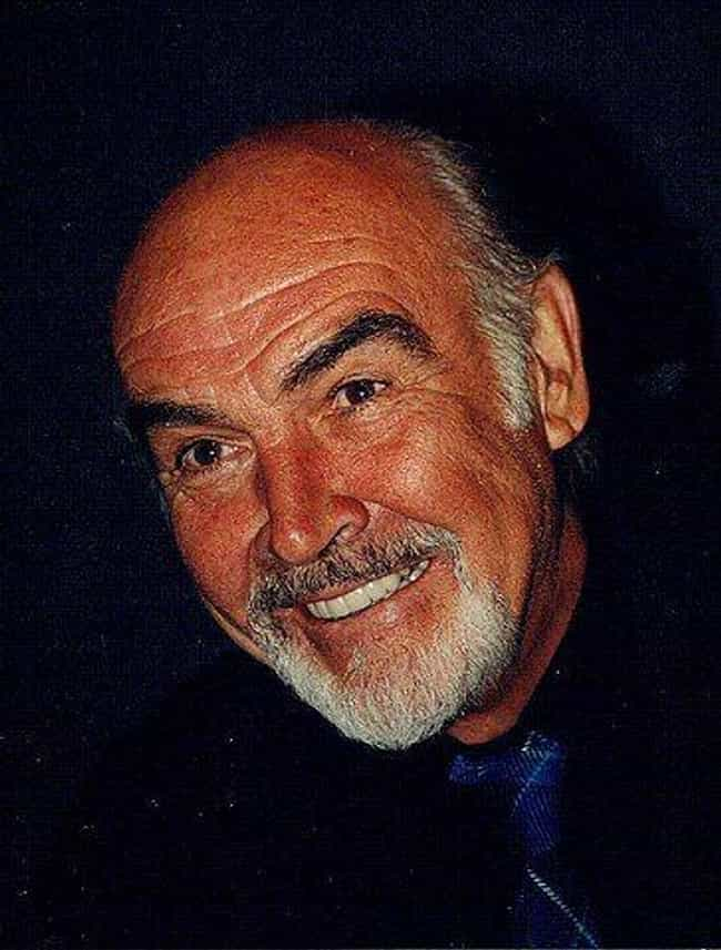 Sean Connery is listed (or ranked) 2 on the list 20 Celebrities Rocking the Bald Look