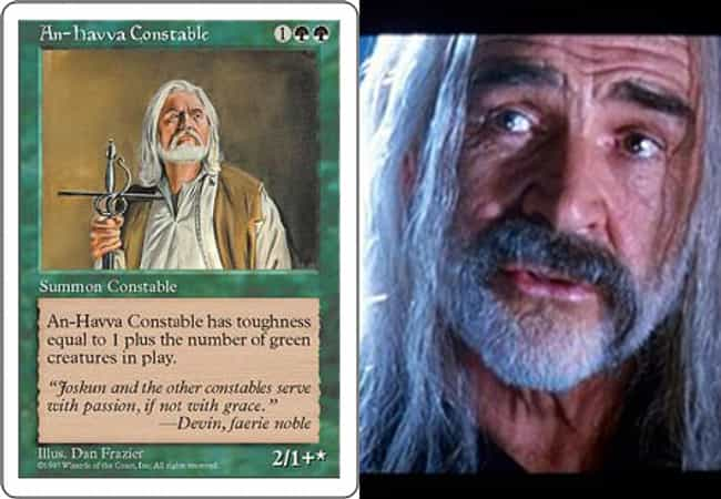 Sean Connery is listed (or ranked) 3 on the list 23 Magic Cards That Look Like Celebrities