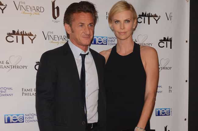 Sean Penn is listed (or ranked) 1 on the list Charlize Theron's Loves & Hookups