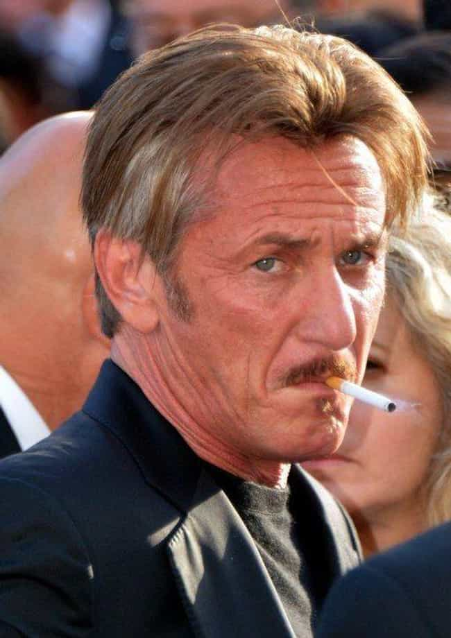 Sean Penn is listed (or ranked) 4 on the list 23 Actors Who Have Done Real Time in Prison