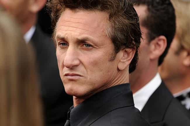 Sean Penn is listed (or ranked) 4 on the list Male Celebrities Who Are 5'8
