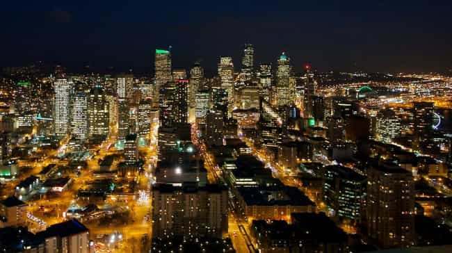 Seattle is listed (or ranked) 4 on the list The Most Beautiful Cities in the US