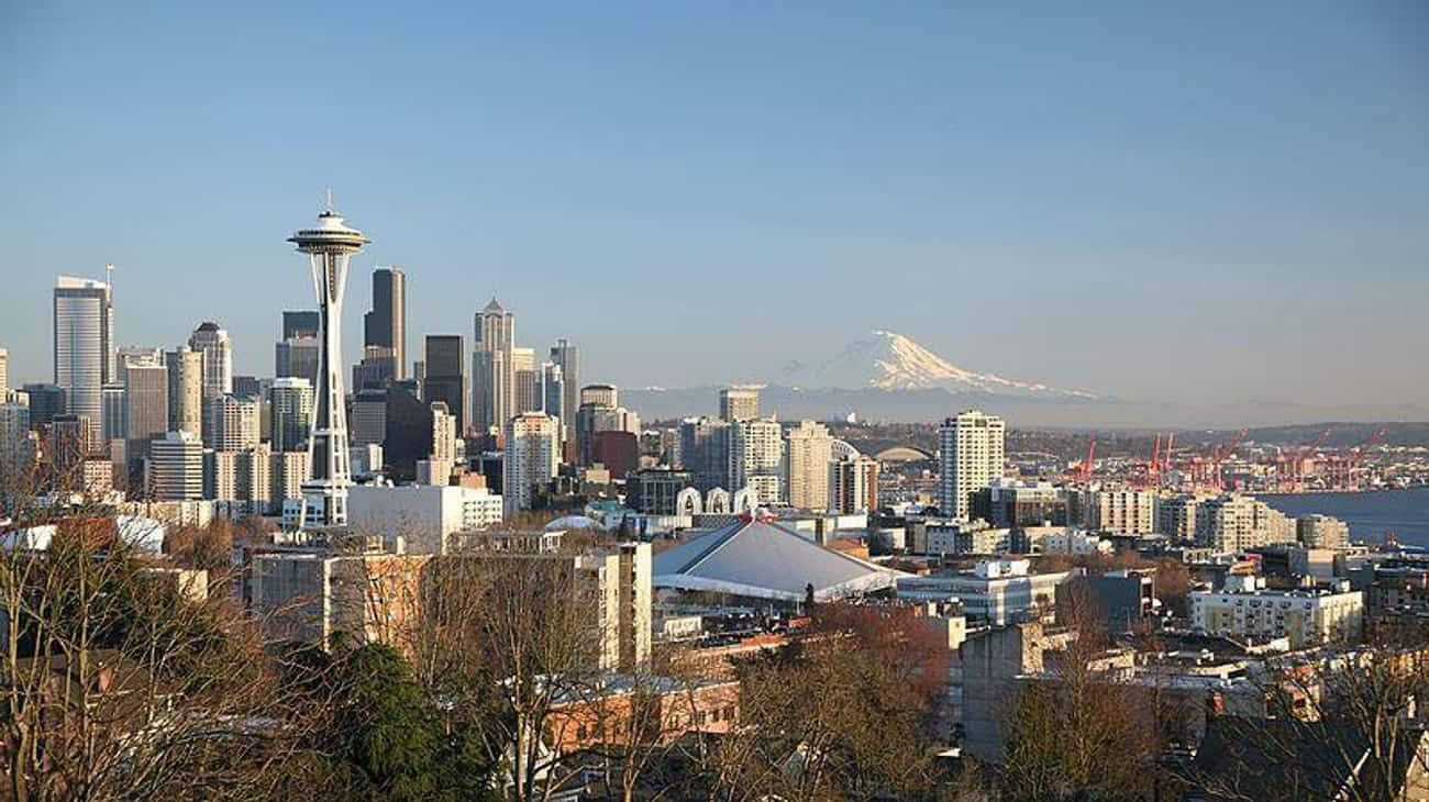 Seattle, WA is listed (or ranked) 1 on the list The Most Beautiful Cities in the US