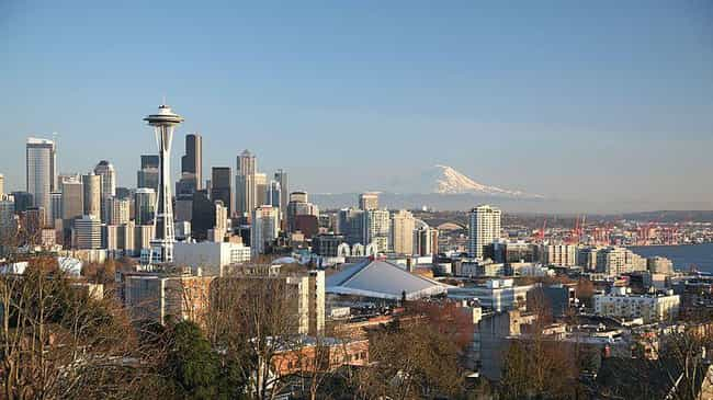 Seattle is listed (or ranked) 1 on the list The Most Beautiful Cities in the US
