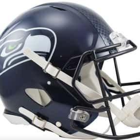 Seahawks is listed (or ranked) 4 on the list The Best Current NFL Helmets