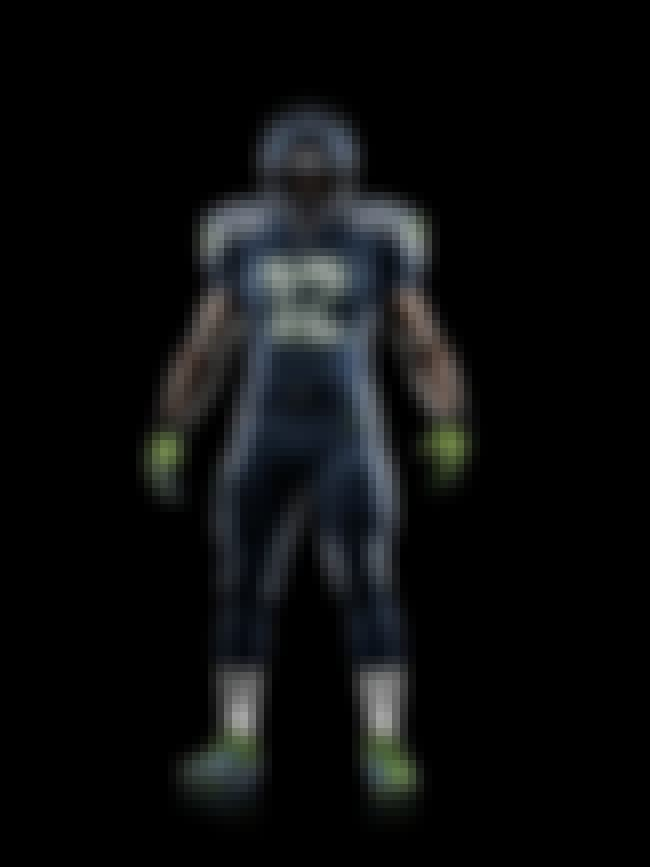 Seattle Seahawks is listed (or ranked) 1 on the list The Best Uniforms In The NFL