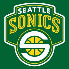 Seattle Supersonics is listed (or ranked) 10 on the list The Coolest Basketball Team Logos