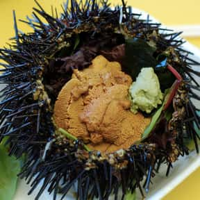 Sea Urchin is listed (or ranked) 12 on the list The Best Fish for Sushi