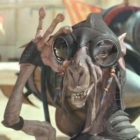 Sebulba is listed (or ranked) 3 on the list Which 'Star Wars' Character Is The Best Skateboarder?