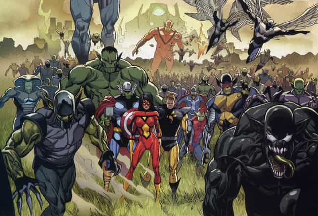 Secret Invasion is listed (or ranked) 4 on the list The Best Marvel Crossover Events & Storylines Ever