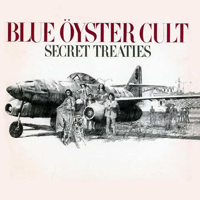 Secret Treaties is listed (or ranked) 1 on the list The Best Blue Öyster Cult Albums, Ranked
