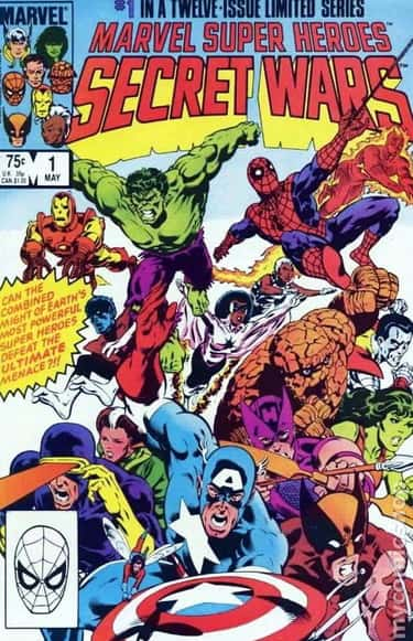 Secret Wars (1984) is listed (or ranked) 2 on the list The Best Marvel Crossover Events & Storylines Ever