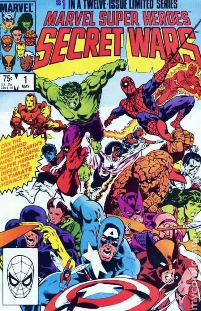 Secret Wars is listed (or ranked) 2 on the list The Best Marvel Crossover Events & Storylines Ever