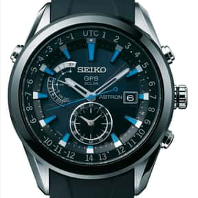 Seiko is listed (or ranked) 4 on the list The Best Watch Brands